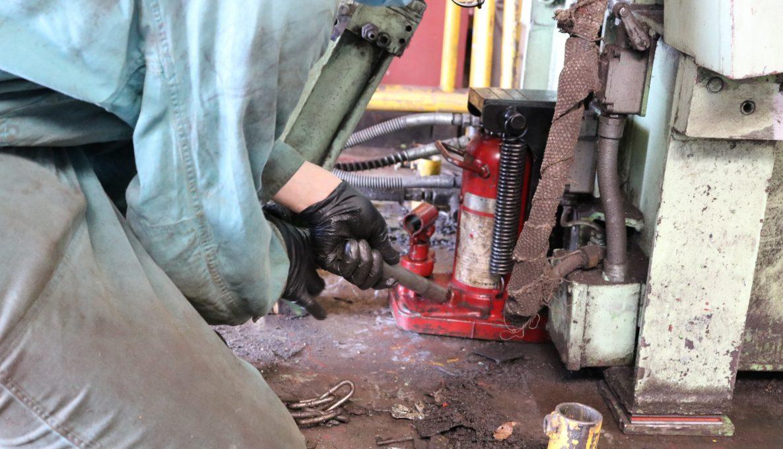 工作機械の奥は深い!ベンディングロールのモロモロを修理 その2